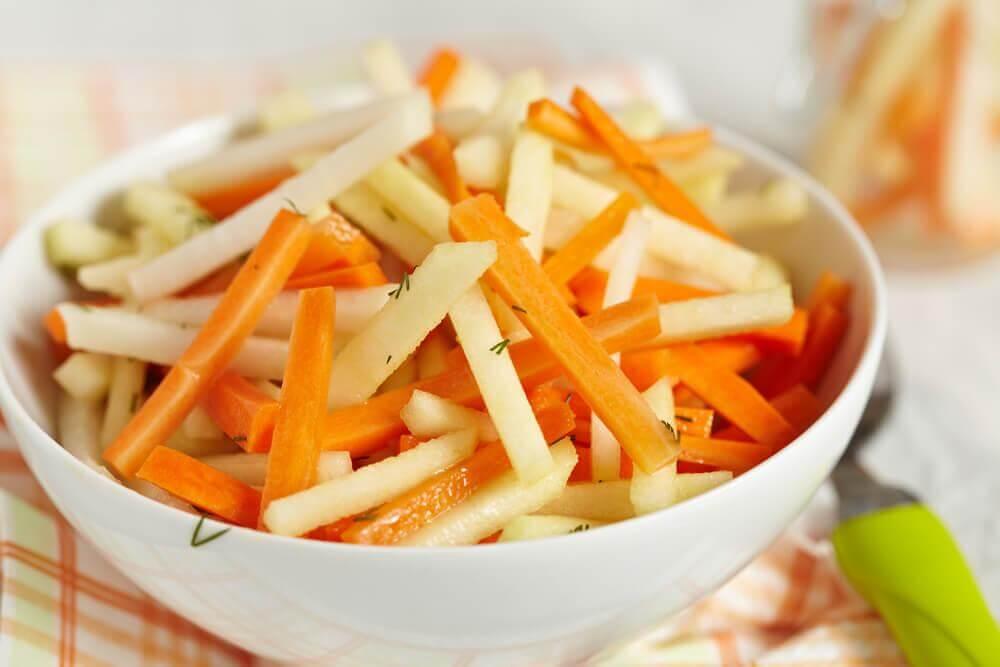 Fem sunde salater til din tyktarm