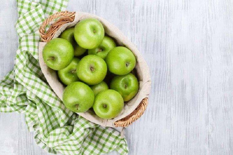 Grønne æbler