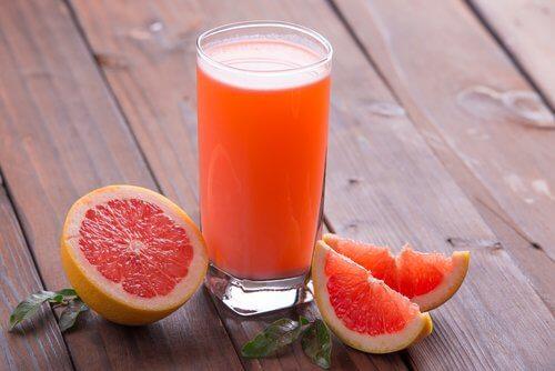 Grapefrugt juice