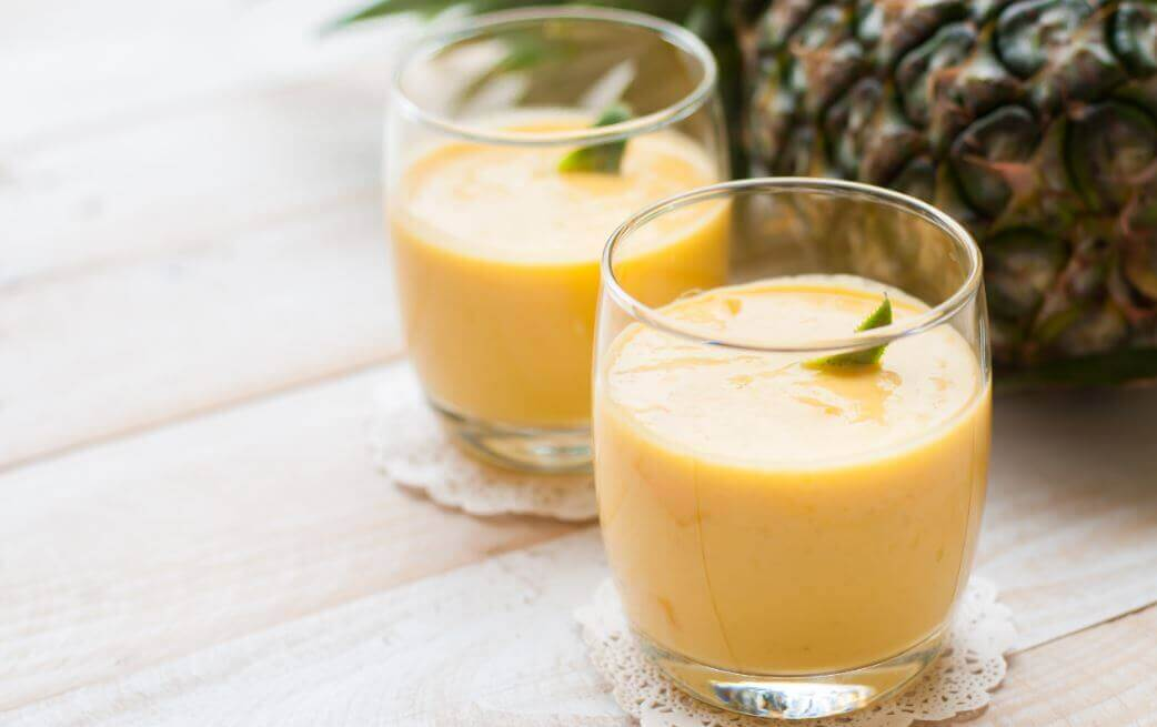 Ananas smoothies