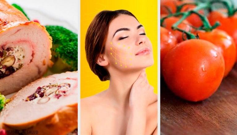 Fire madvarer der hjælper kroppen med at danne kollagen