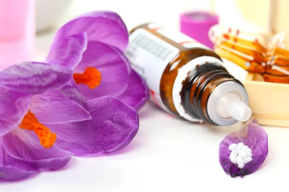 Blomster og olie