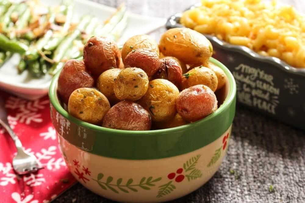 Kartofter i en skaal - proteinrige opskrifter