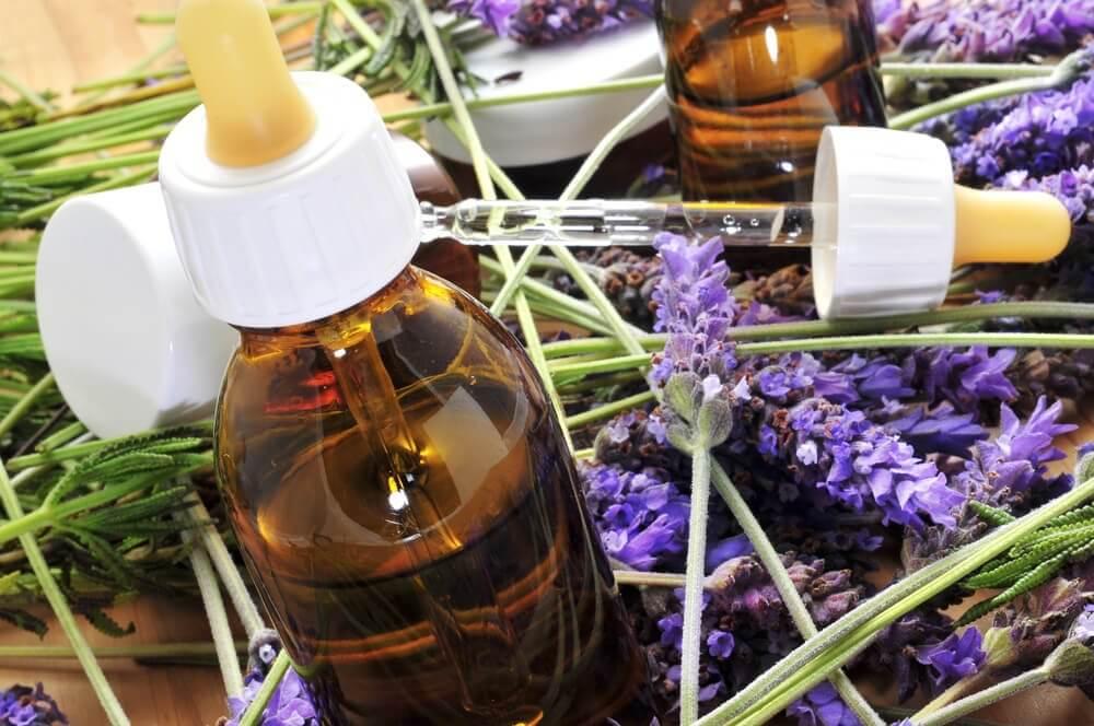 Olie flaske - Bach blomsterterapi