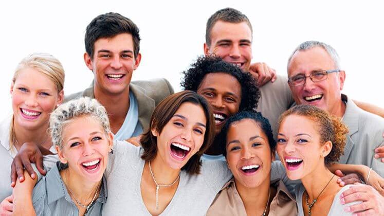 Glade mennesker