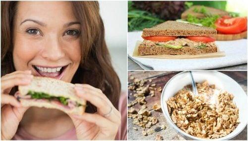 5 sunde morgenmåltider til at starte dagen på
