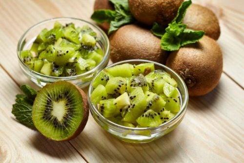En af de mest anbefalede morgenmad hvis du er på slankekur er kiwi