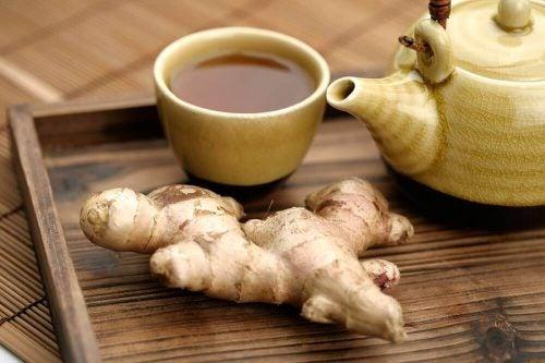 Ingefaer te og ingefaer - aktiverer dit stofskifte