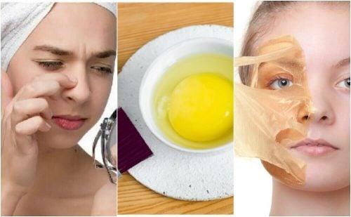 Få skønnere hud med 5 ansigtsmasker med æg