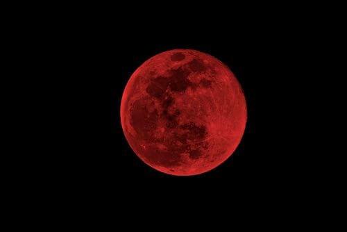 Blodmånen har ikke særlig negativ indflydelse på mennesker.