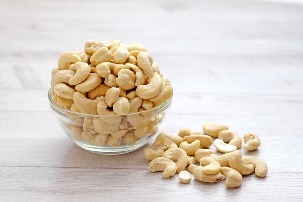 cashewnødder for hjerneaktivitet