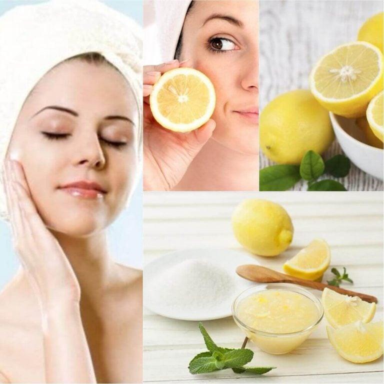 6 måder at bruge citron som naturlig kosmetik på