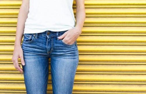 Tynde jeans har i lang tid været mere moderne