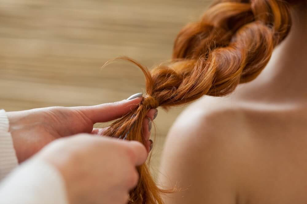 flet håret