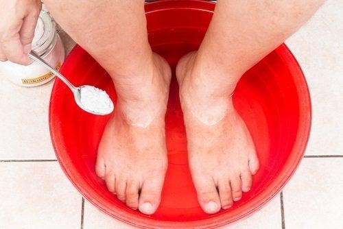 fodbad for sunde fødder
