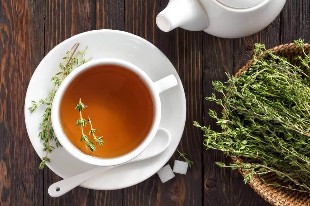 De fantastiske fordele ved timian te