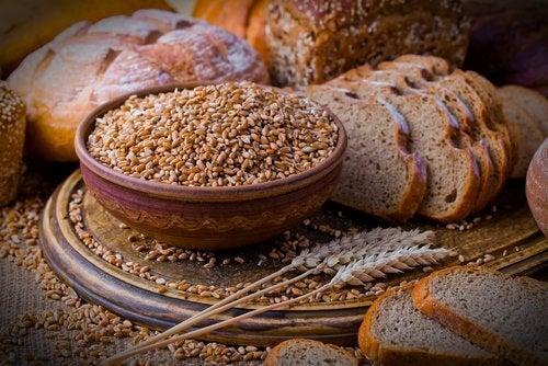 En diæt der indeholder fuldkorn er godt med dannelsen af galdesten.