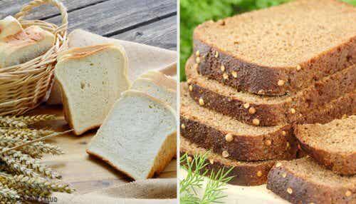 Hvidt brød eller fuldkornsbrød: Hvad er bedst?