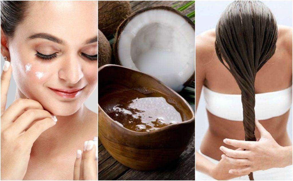 5 fremragende skønhedsbehandlinger med kokosolie