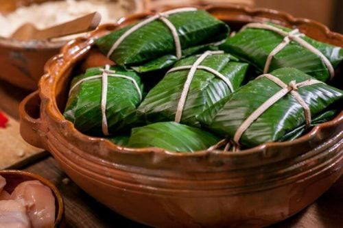 Opskrift på hjemmelavede tamales