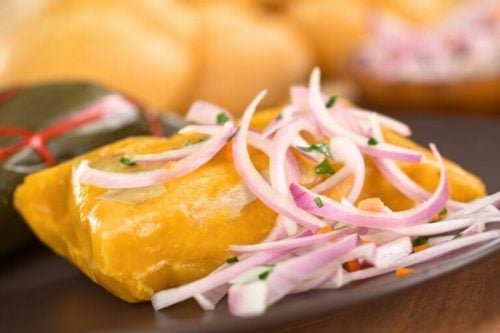 Hjemmelavede tamales