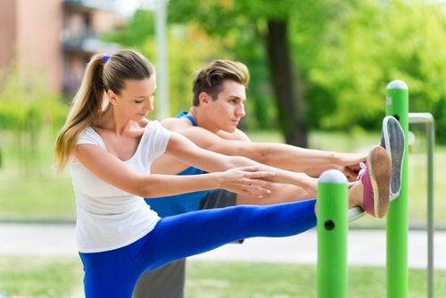 Par der motionerer - bedre sexliv