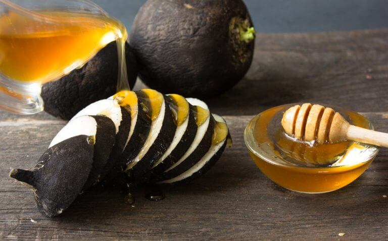 Radiser og honning - lysne leverpletter