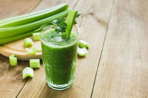 En groen smoothie