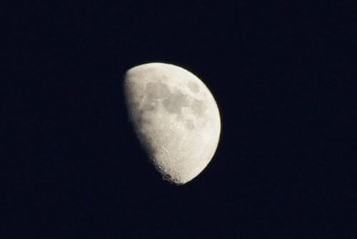 Månen påvirker mennesker i dens tiltagende fase.