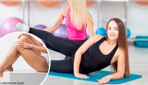 Denne træningsrutine hjælper med at tone dine ben hurtigt