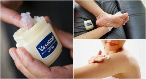 6 medicinske anvendelser af vaseline du bør kende