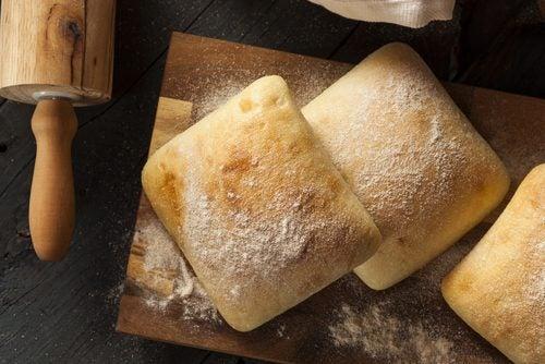 Hvidt brød er skidt.
