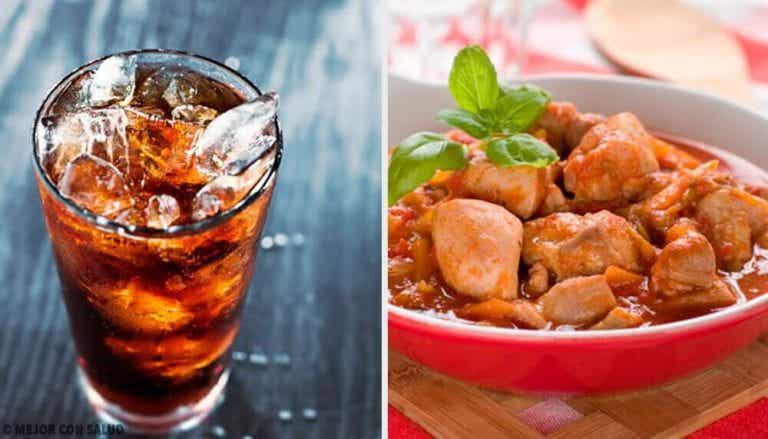 To kyllingeopskrifter med cola