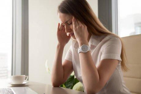 forsinket mens stress