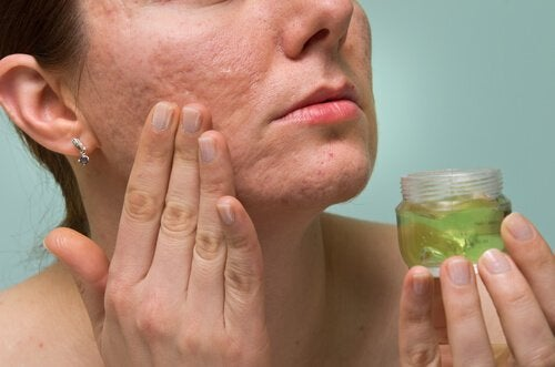 Aloe vera for huden