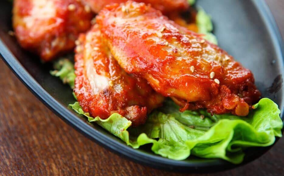Kylling i sauce