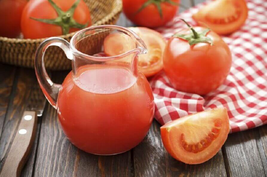 Tomatjuice.