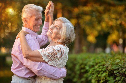 Dans som træning for pensionister