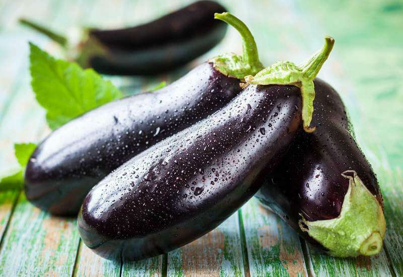 Lækker opskrift på vegetariske kødboller med aubergine