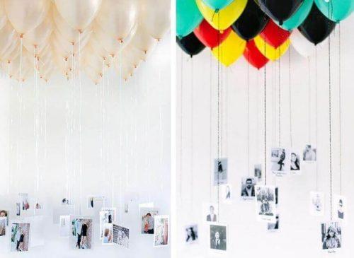 Balloner med billeder