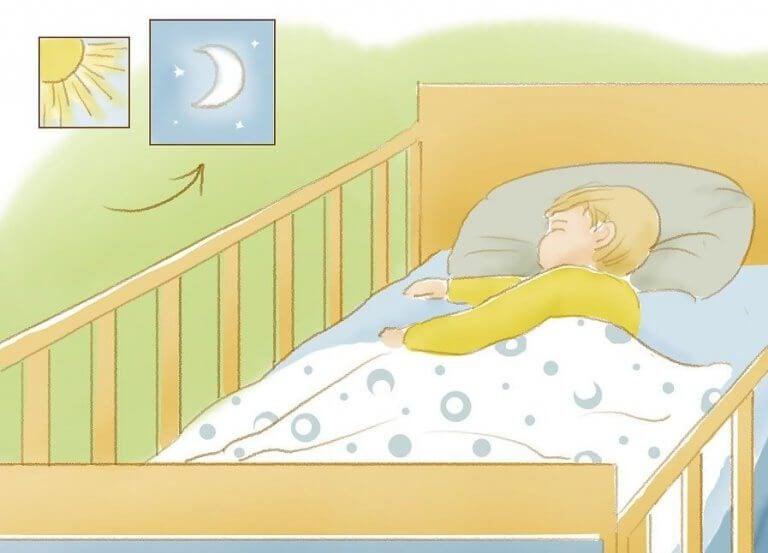 Lær dit barn at sove hele natten