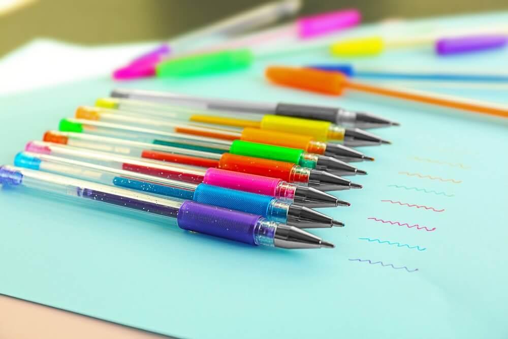 blækpletter fra penne