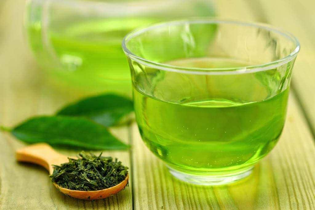 Groen te - behandle fedtlever