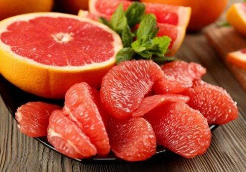 Grapefrugt, en af de frugter, der fremmer vægttab