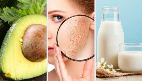 ansigtsmaske til tør hud