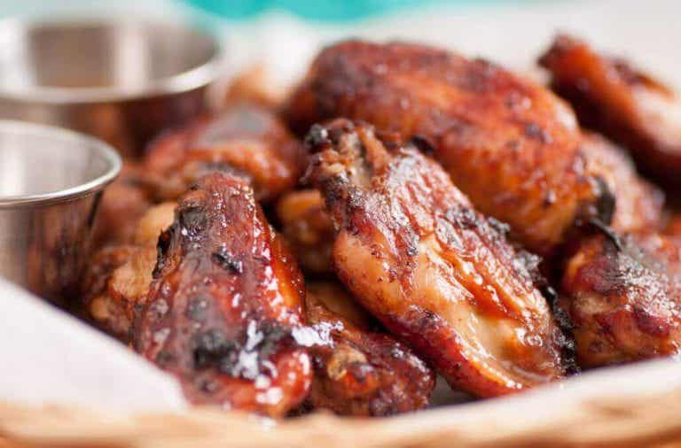 Lækker hot wings-opskrift