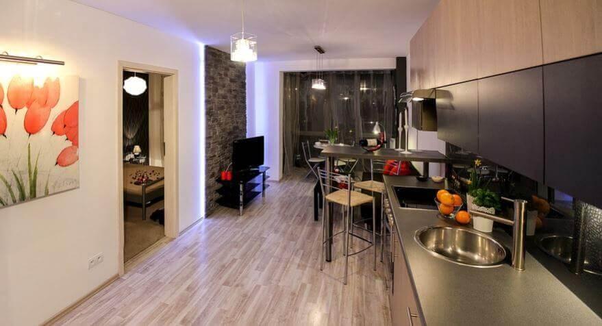 interiør minimalistisk hjem