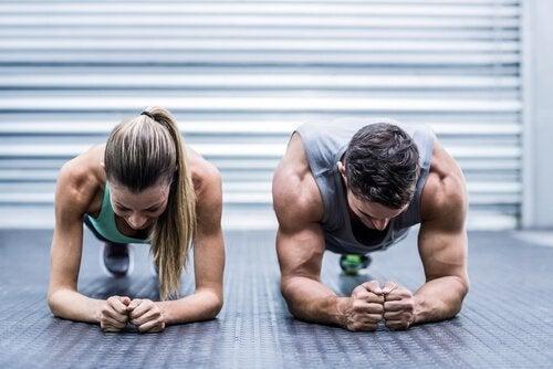 Planken er en øvelser der er godt for både kvinder og mænd. Øvelsen rammer samtlige muskler, men er især godt til at fremelske dine perfekte mavemuskler.