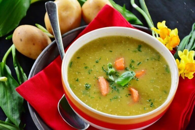 Laekker suppe