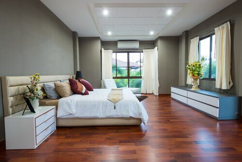 minimalistisk hjem